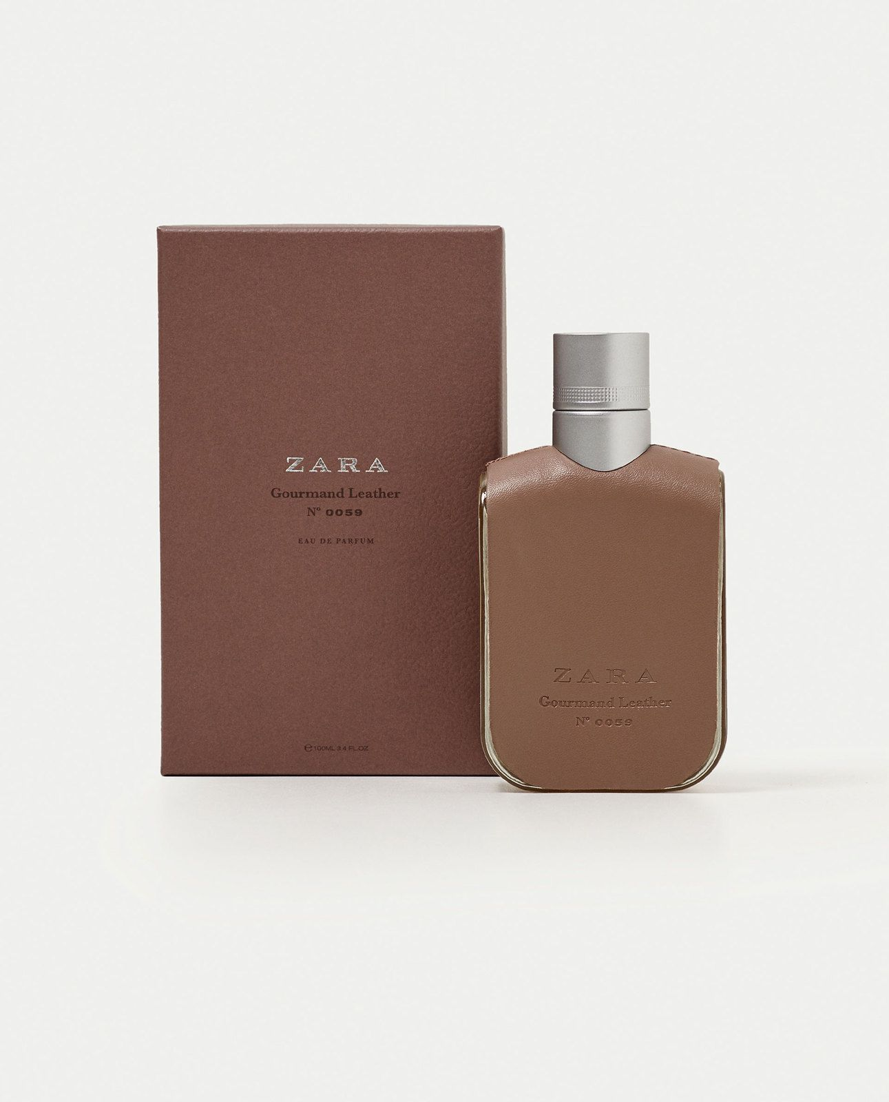 Zara Men Fragrances Gourmand Leather Nº 0059 Eau De Parfum 100ml