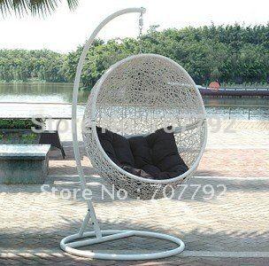 2017 hot sale sg jha 178d rattan garden swing chair outdoor