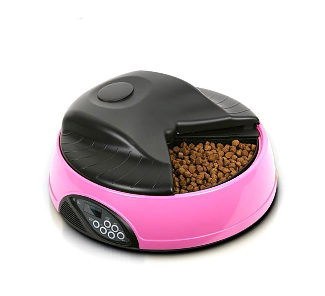 Buwico Automatic Pet Feeder 4 Meals Tray Programmable