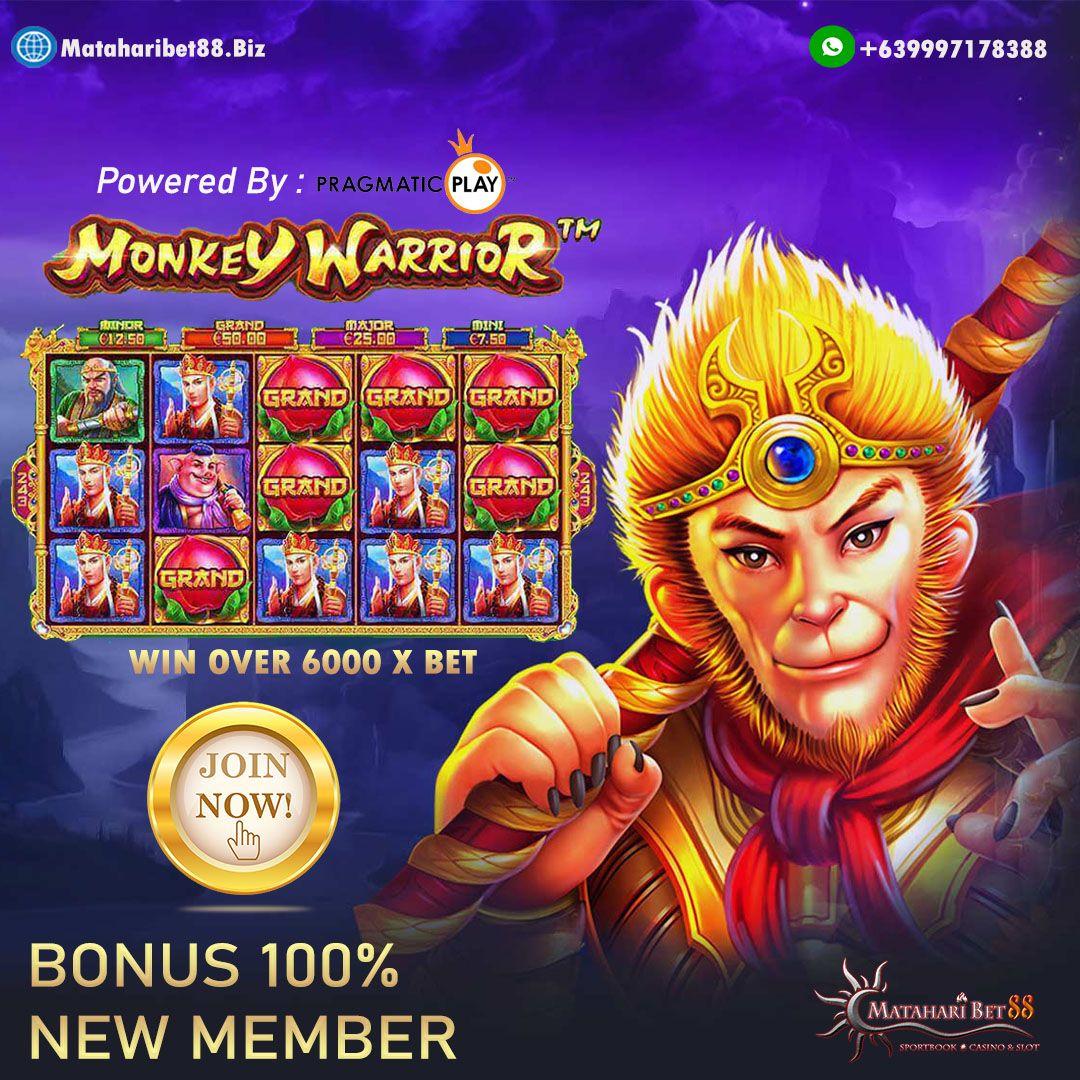Menangkan Jutaan Rupiah Dari Slot Game Monkey Warrior di