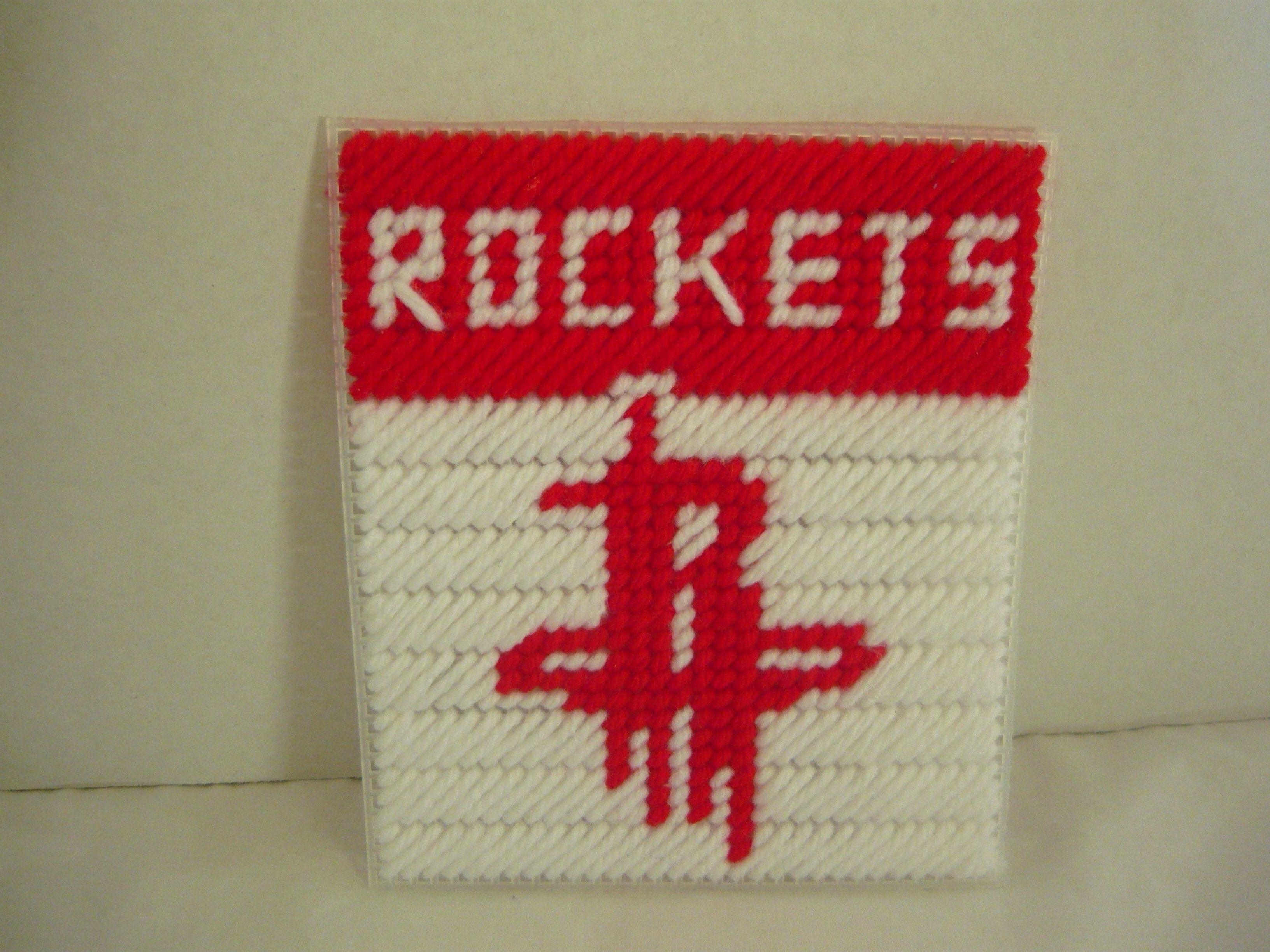 Houston Rockets Pro Basketball tissue box covers