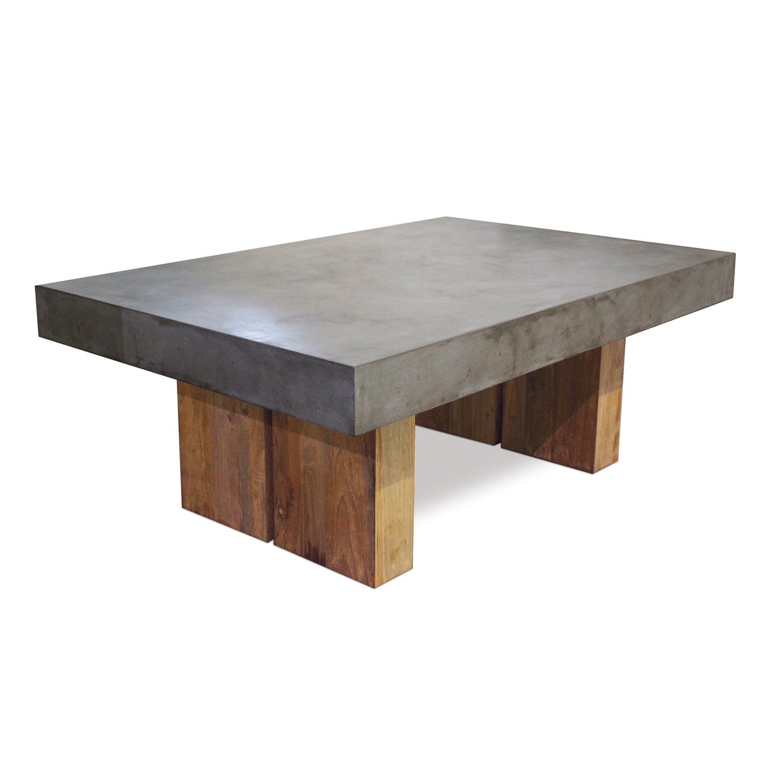 Samos Coffee Table Coffee Table Concrete Top Dining Table