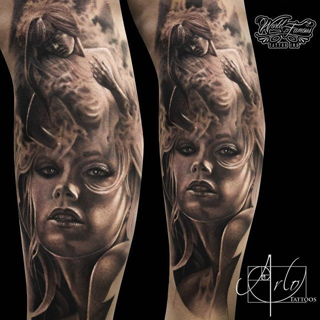 Arlo Di Cristina Arm Tattoo: Mysterious Motives In The Works Of Arlo DiCristina