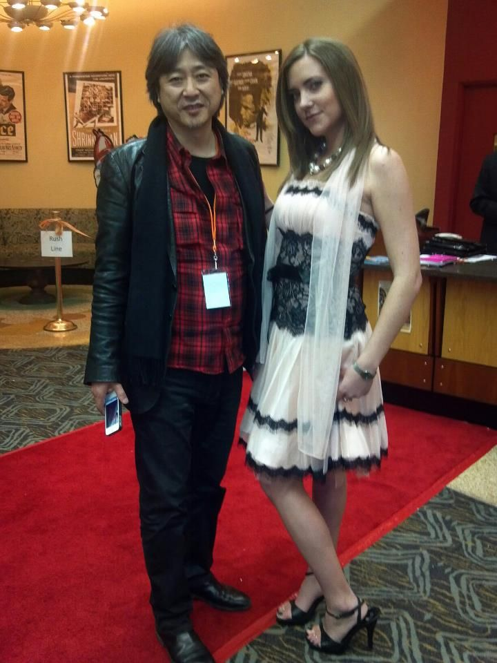 Out enjoying the California Independent Film Festival.