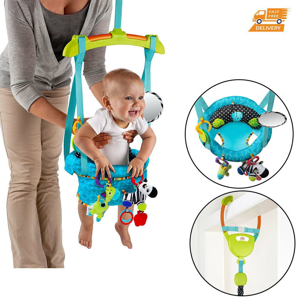 Baby Activity Jumper Bumper Doorway Hanging Chair Secure Bouncer Kids Exerciser