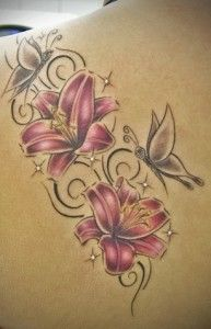 561e9851e Black Lily Meaning | lily tattoo designs and meanings | Tattoos ...