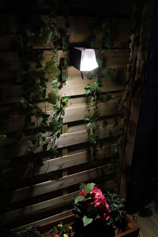 Etu 12v Low Voltage Plug Play Garden Wall Light Alternatively Use The Mounting Base To Floor Mount Or Leave Freestanding Very Easy Install