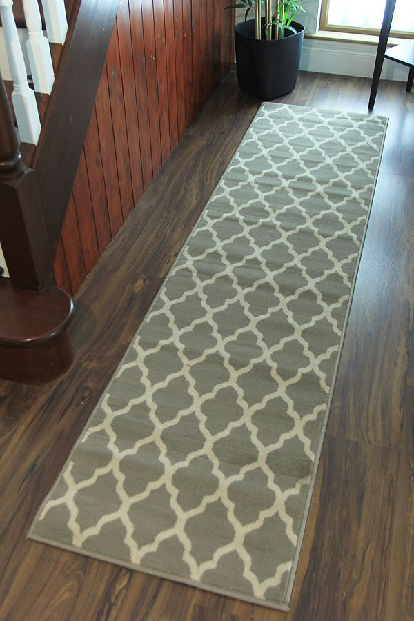 Exceptionnel Modern Milan New Hallway Runner Rugs 60x240cm Soft Long Non Shed Kitchen  Runners | EBay