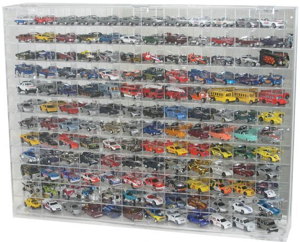 Hot Wheels Nascar Matchbox 1 64 Scale Diecast Display Case Holds