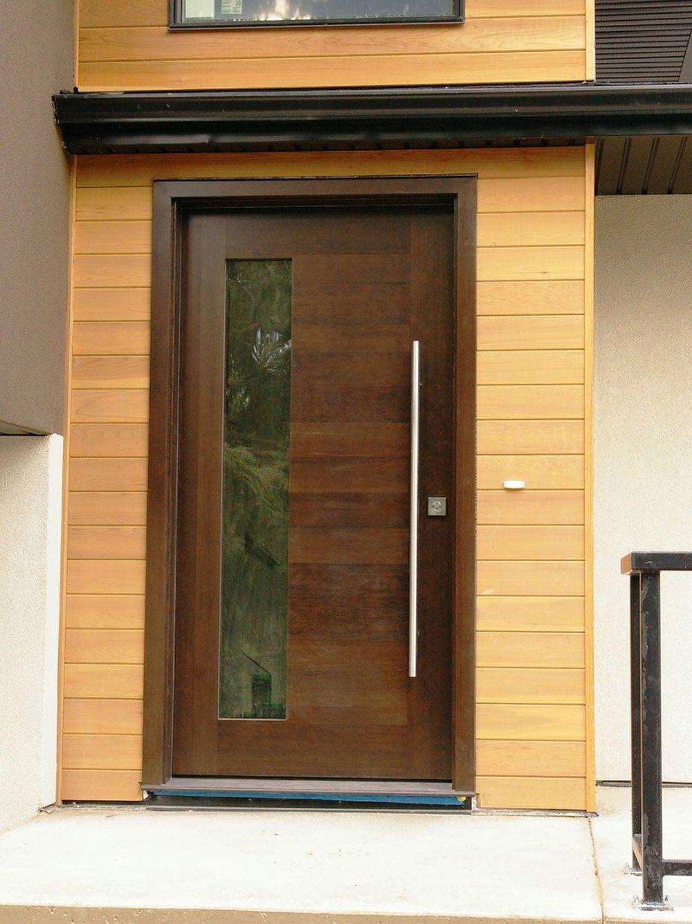 Select Modern Front Doors With Images Modern Front Door