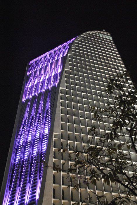 Front Elevation Lights : Exterior facade rgb light pinterest