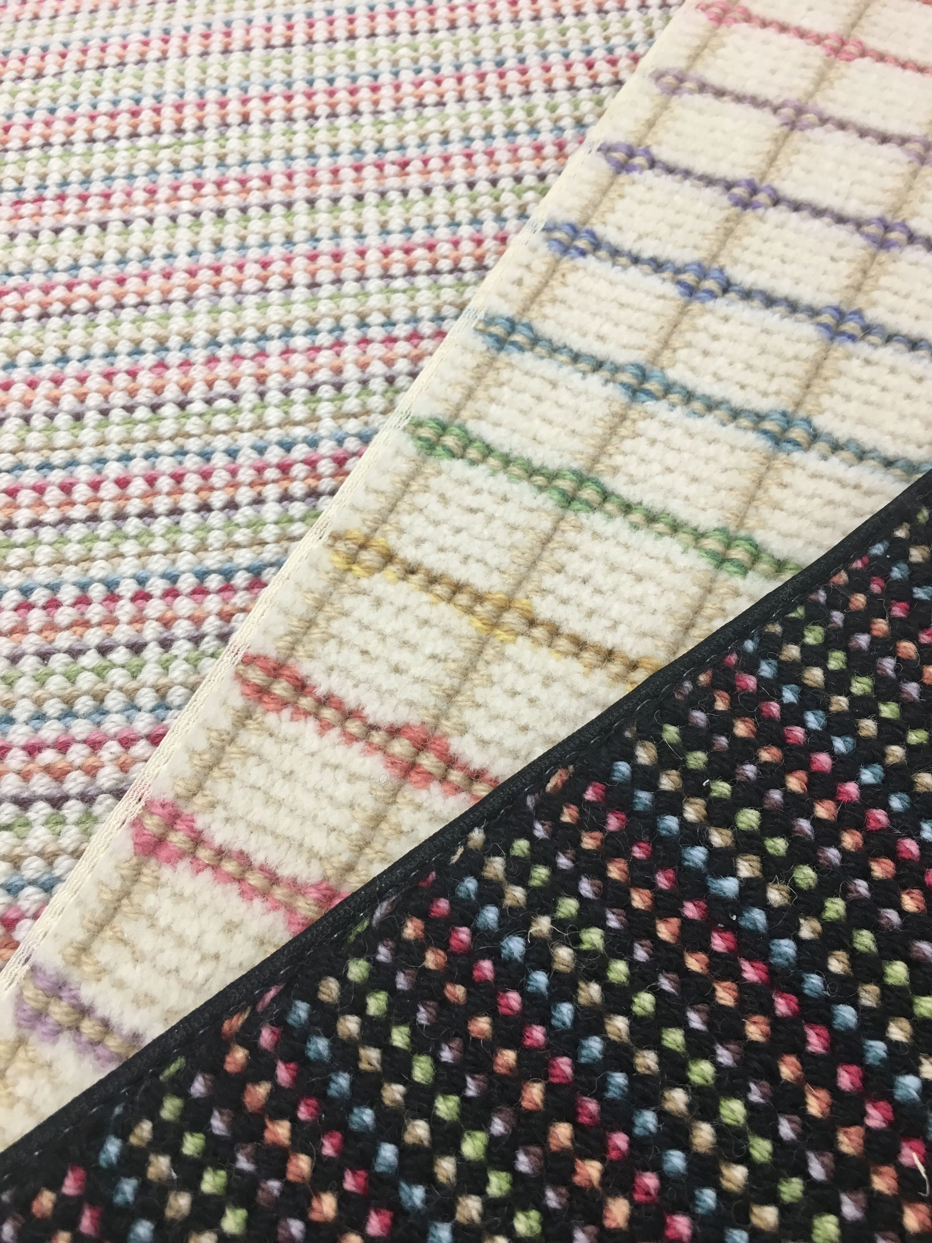 Missoni Wool Carpet Offered For Wall