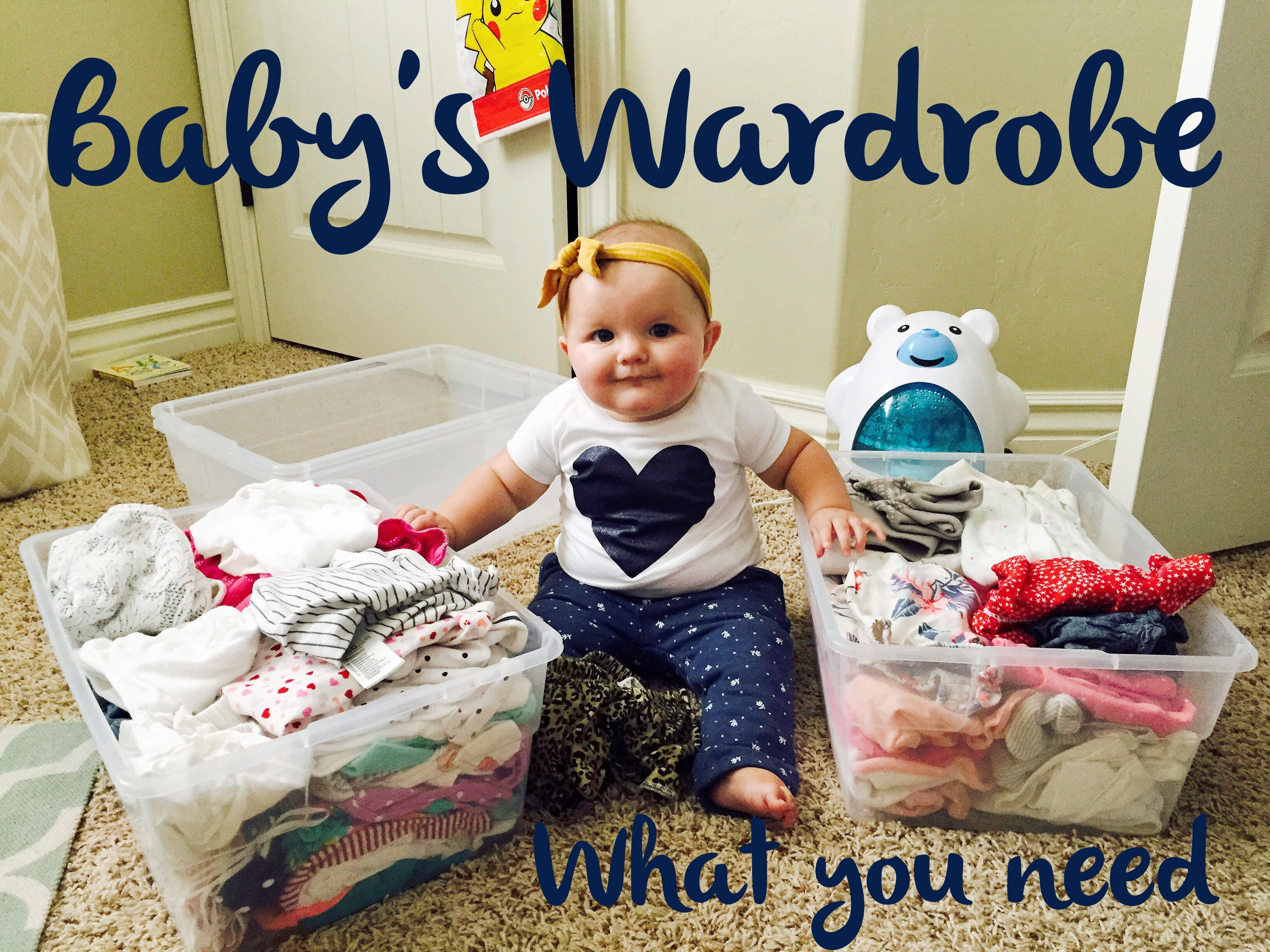 Danica shares the knowledge on what I'll actually need in my baby's wardrobe