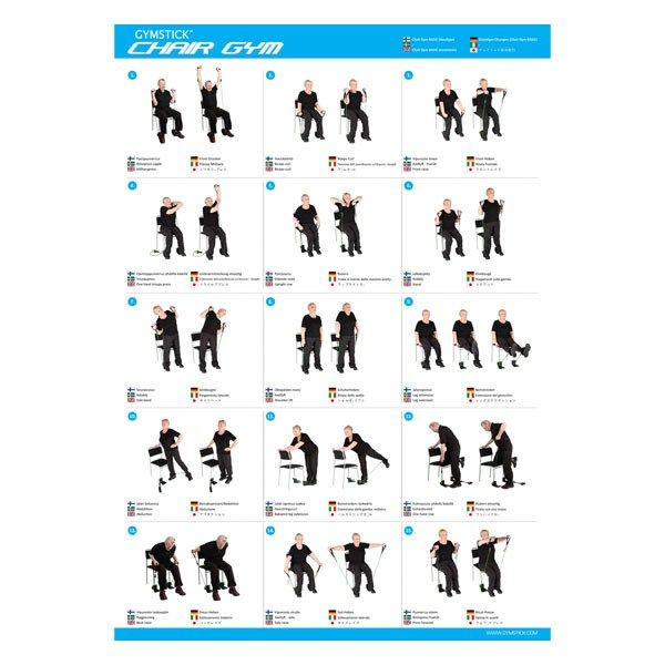 Chair Exercise For Seniors Handout Wooden Office Wheels Exercises Diagrams Wiring Diagram Schematics Gym Chart Daily Pinterest Rh Com Handouts Pdf