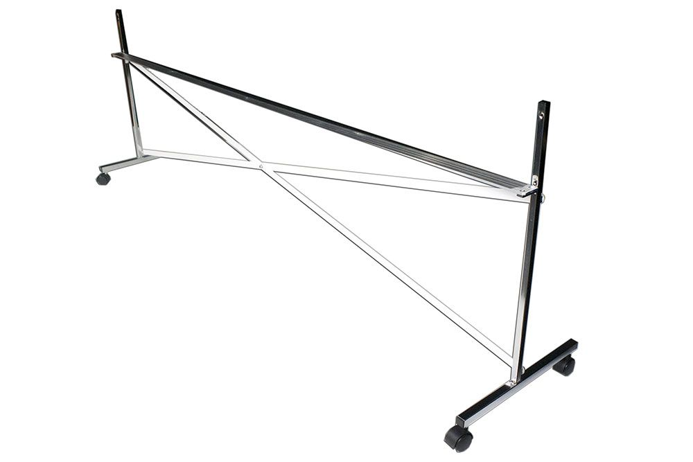 Alvas High Rolling Frames are made of steel and lift the Glassless ...
