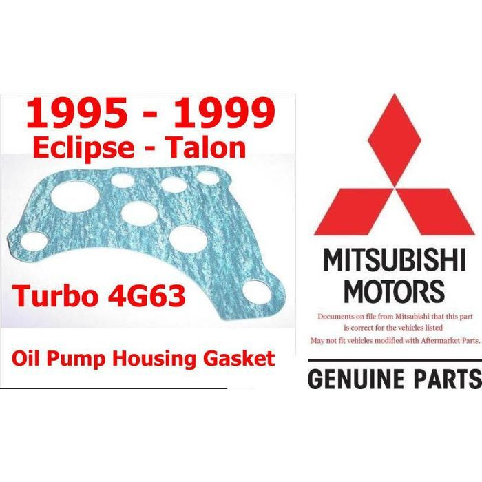 95 99 Eclipse Talon 4g63 Oil Filter Housing To Oil Pump Housing Gasket New Oem Listing In The Other Gaskets Cars Parts A Oil Filter Mitsubishi Eclipse Car Amp