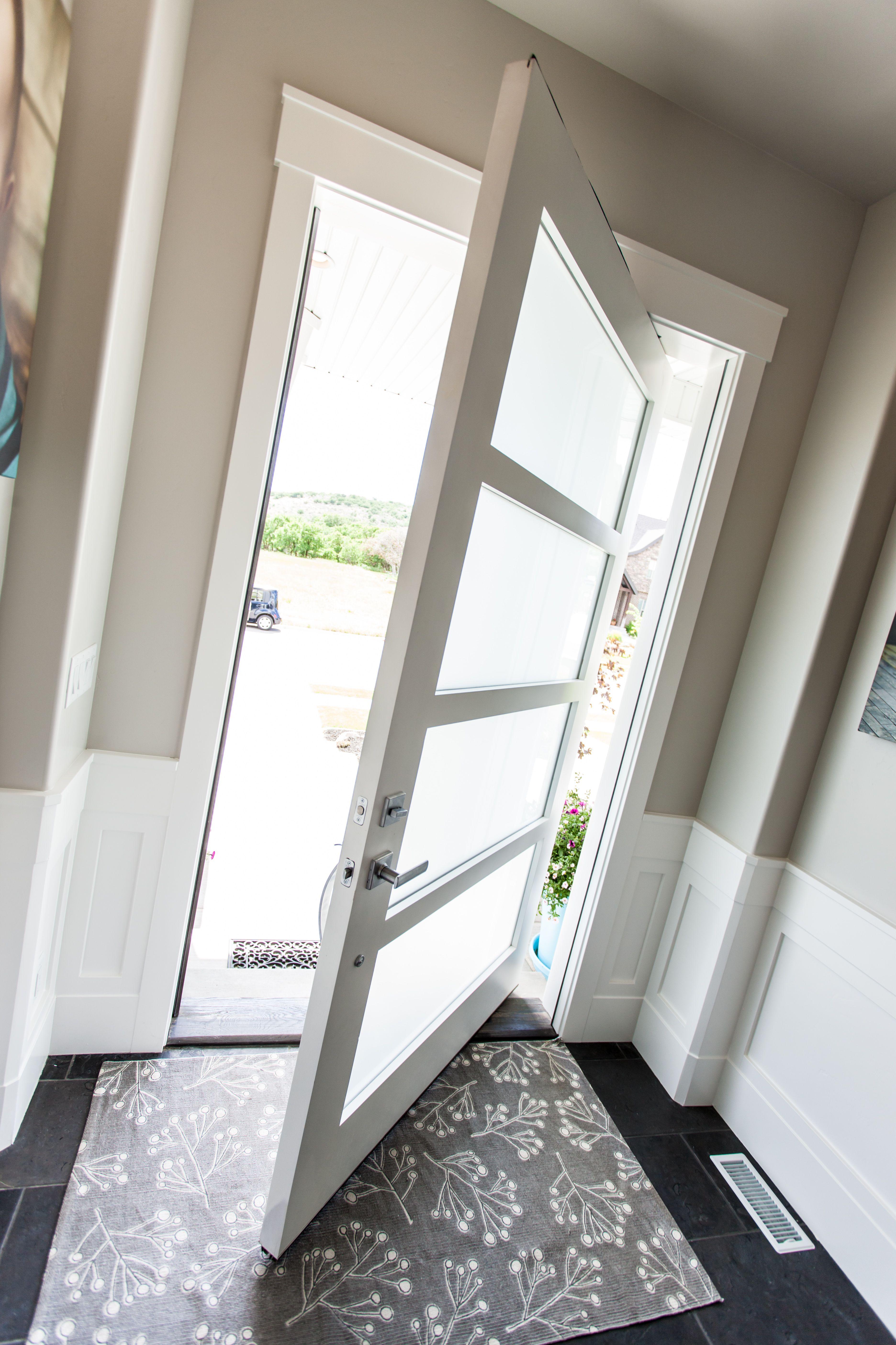 Pivot Hinge Entry Door Design Inspiration Pinterest Doors And