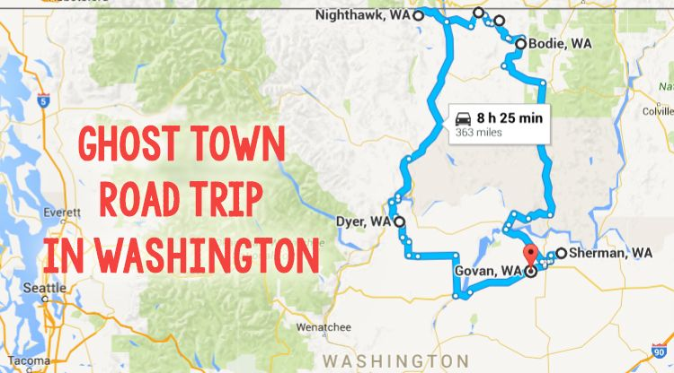 This Haunting Road Trip Through Washington Ghost Towns Is One You ...