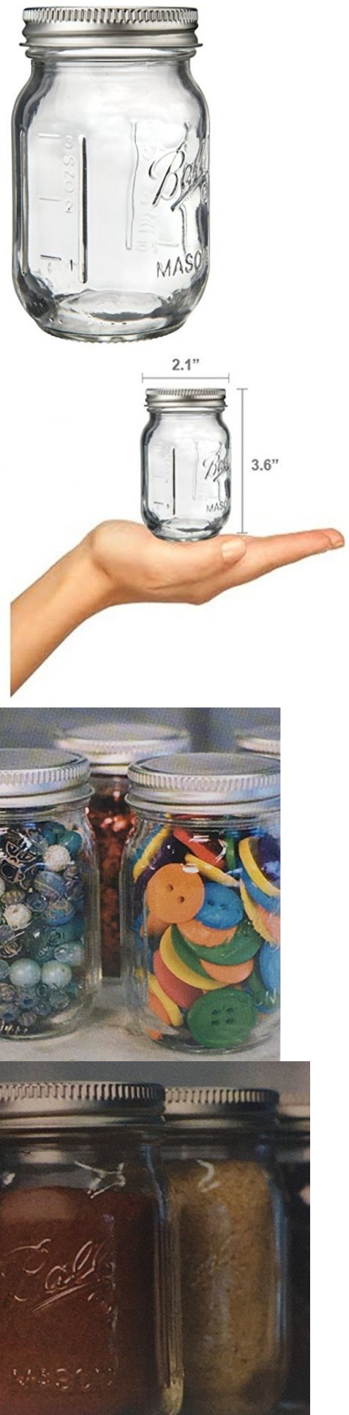 Storage and empty containers ball miniature storage jar