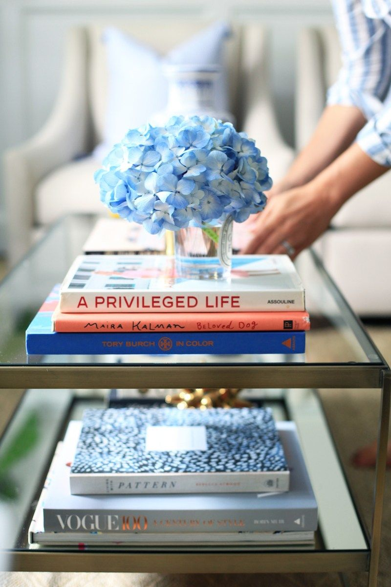 Decorating with Coffee Table Books is part of Formal Living Room Coffee Table - A few tips for using coffee table books as home decor!