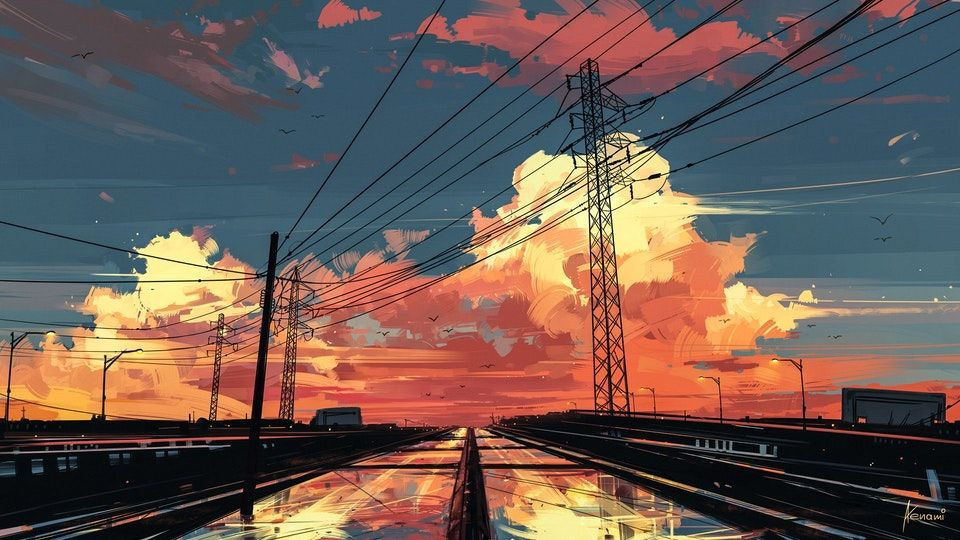 Timeless Digital Illustration 1920h1080 Art Kompyuternye