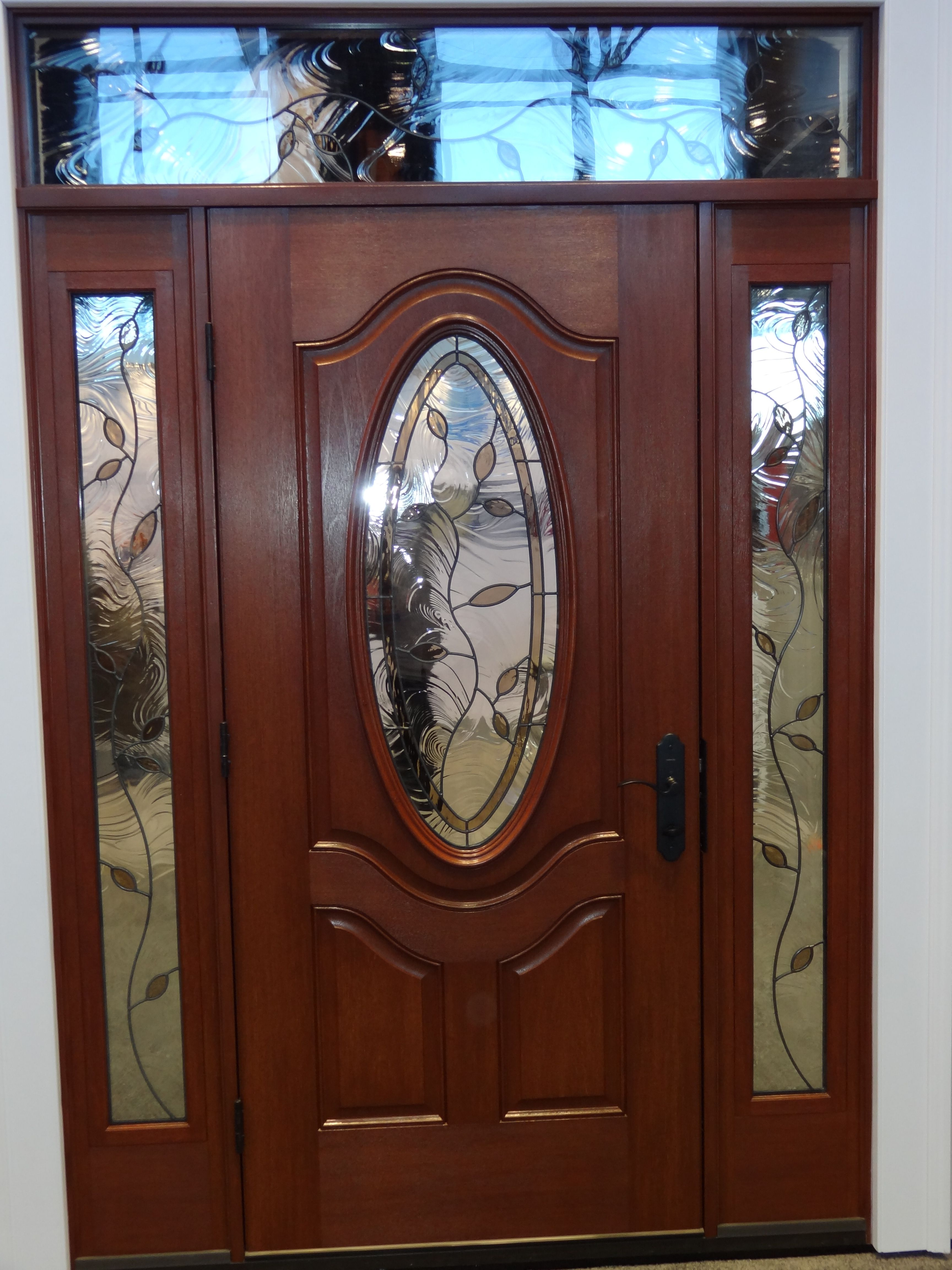 Single Entry Doors With Glass front door entry systems | decorative-door-glass-in-front-door