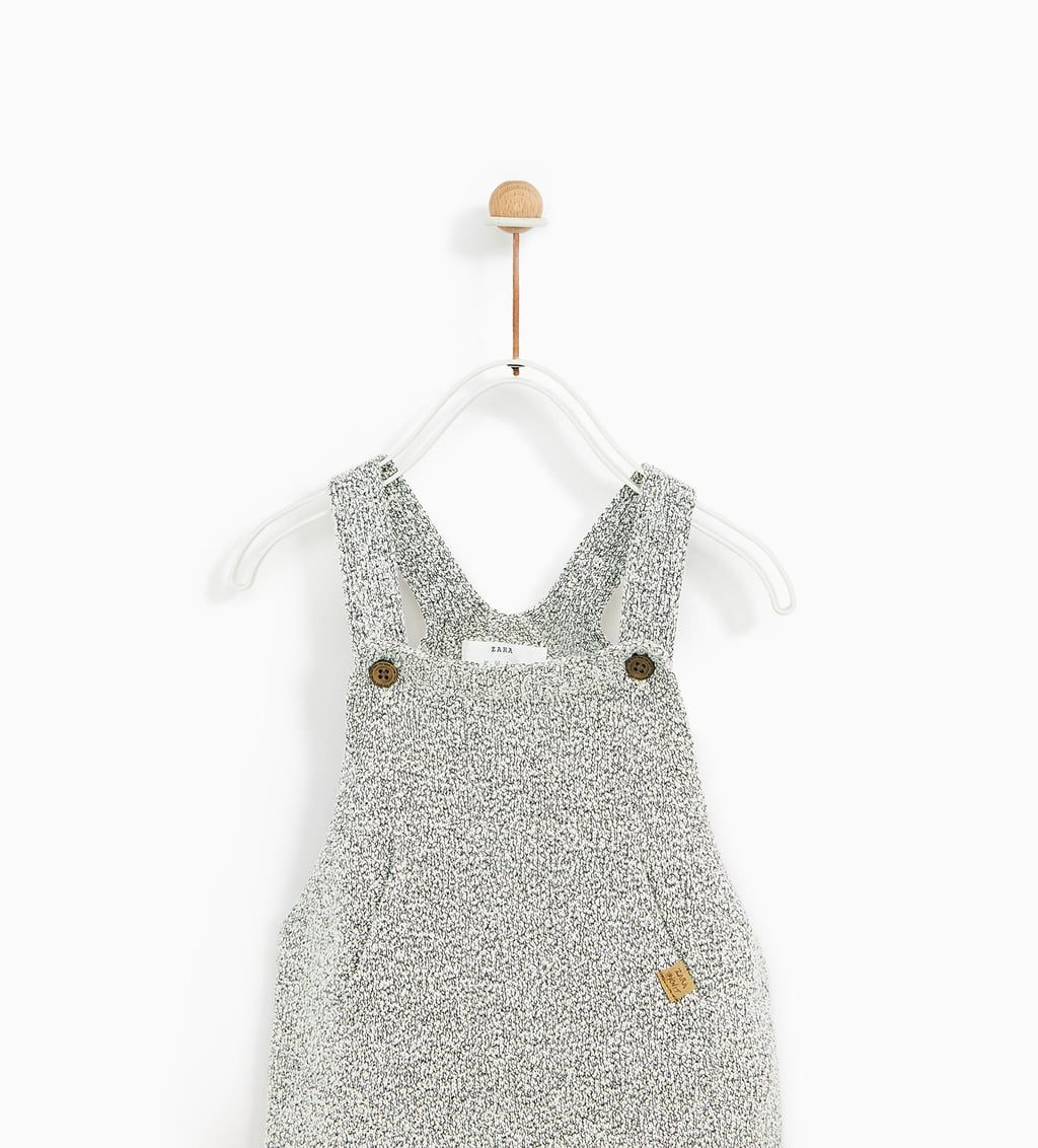 Embroidered knit overalls (With images) | Tank top fashion ...