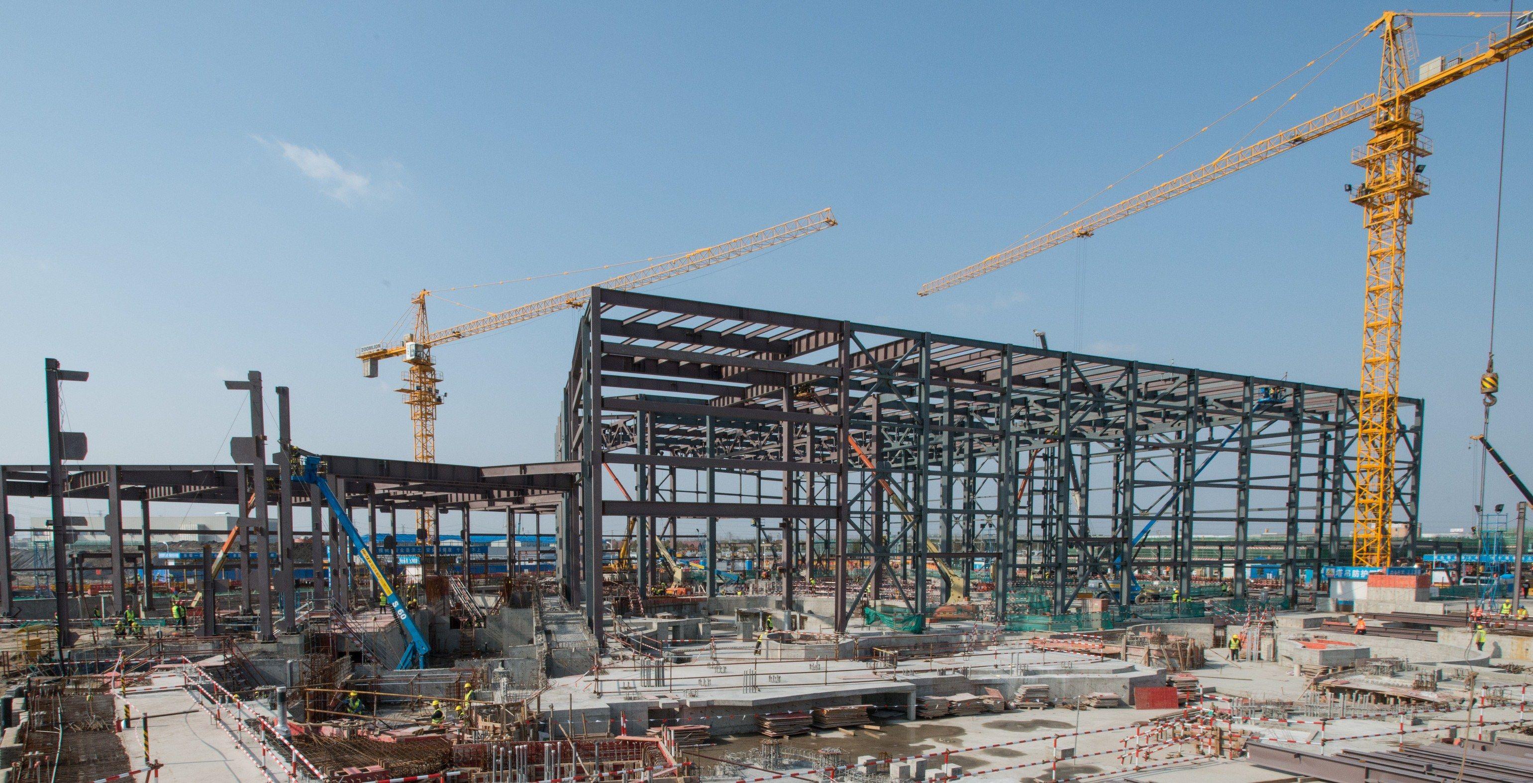 Pirates of the Caribbean, under construction at Shanghai Disneyland in Match 2014. Photo courtesy Disney.