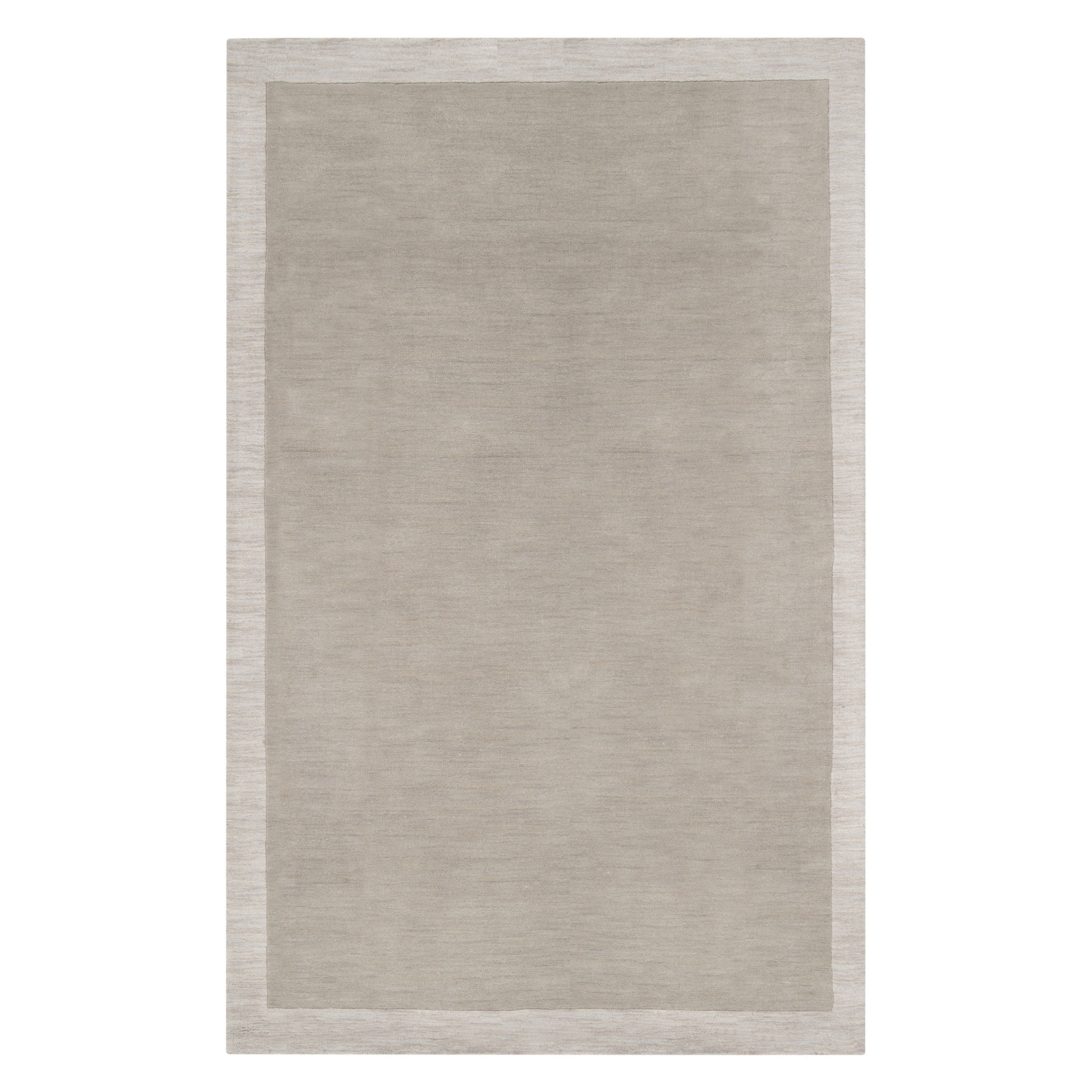 Angelo Home Madison Square Mds 1001 Area Rug Black Grey From