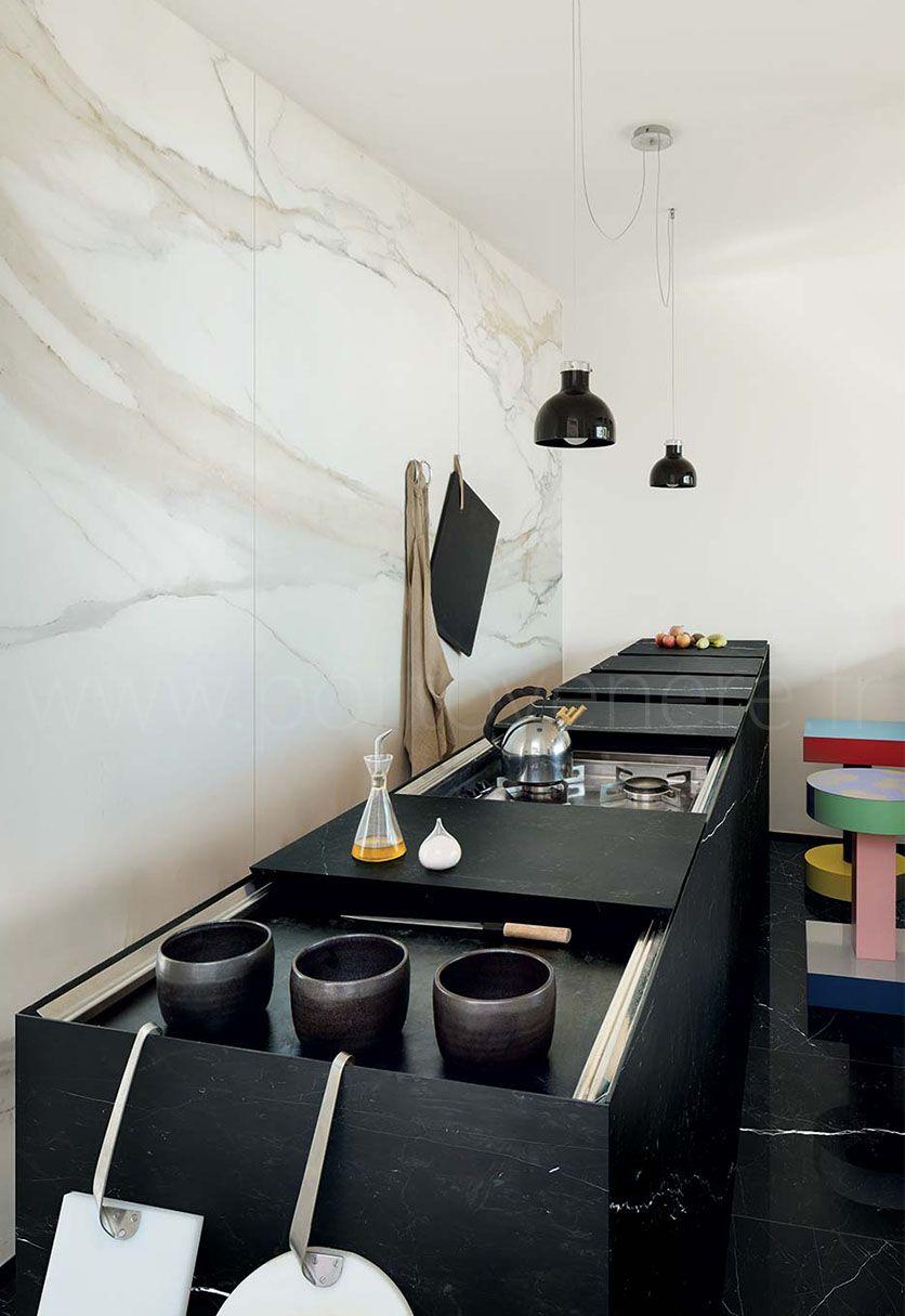 Carrelage Aspect Marbre Grand Format Les Classiques Interieur De