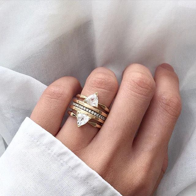 Trillion Gold and Diamond Stack