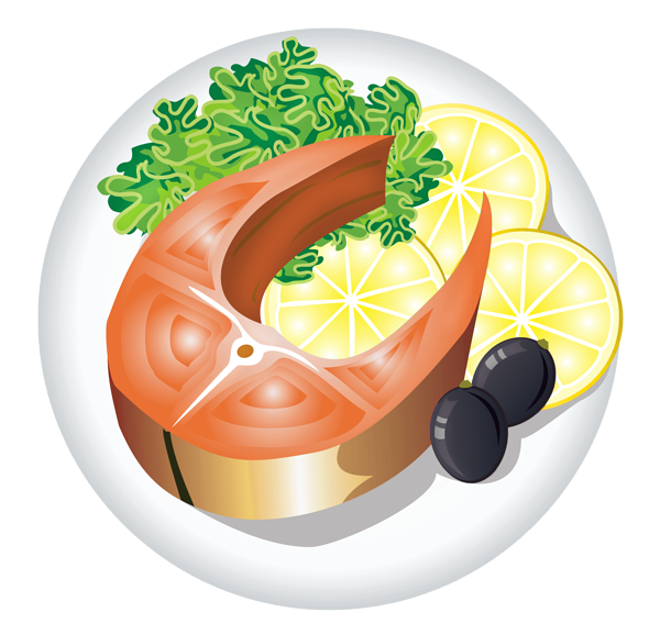 Fish Dish With Lemon Png Clipart Image Fish Dishes Food Drawing Food Png