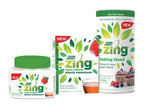 Zing Zero Calorie stevia sweetener is a zero calorie sweetener, made with high quality stevia leaf extract and dextrose. Available in packets and in an easy-spoon jar   www.zingstevia.com