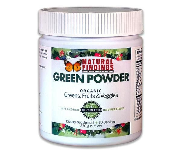 Natural Findings Organic Green Powder