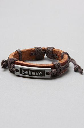 Farts & Crafts believe Bracelet $28
