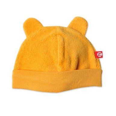 Amazon Com Cozie Fleece Hat With Ears By Zutano Orange 24 Mths Clothing Fleece Hat Hats Newborn Hat