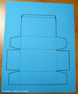 McMahon Five Designs Paper Lunch Box Tutorial