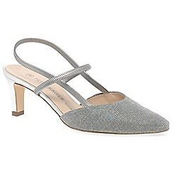 Silver 'Mitty' womens slingback shoes exclusive online buy cheap Cheapest cheap footlocker new arrival for sale clearance pick a best FXm6KaJxE