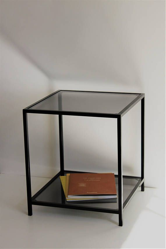 Glass Coffee Table Glass Side Table Bedside Table Accent Table