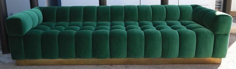 Green Tufted Sofa Check More At Http Casahoma 24212