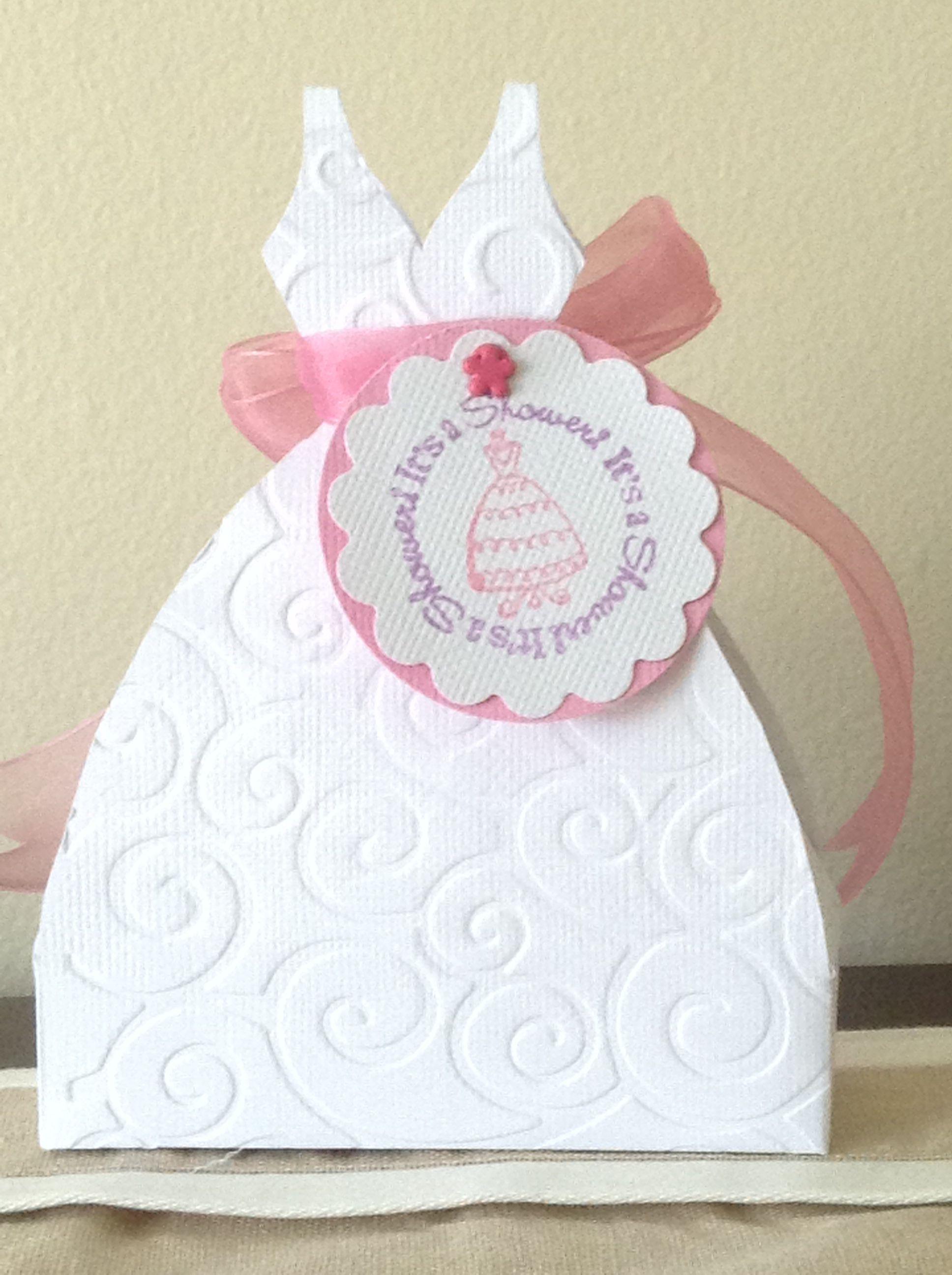 Wedding Shower Gift Card Holder using Cricut Tags, Bags