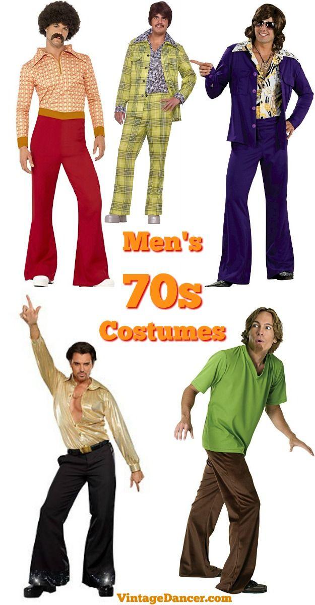 60s 70s Men S Costumes Hippie Disco Beatles Vintage Halloween