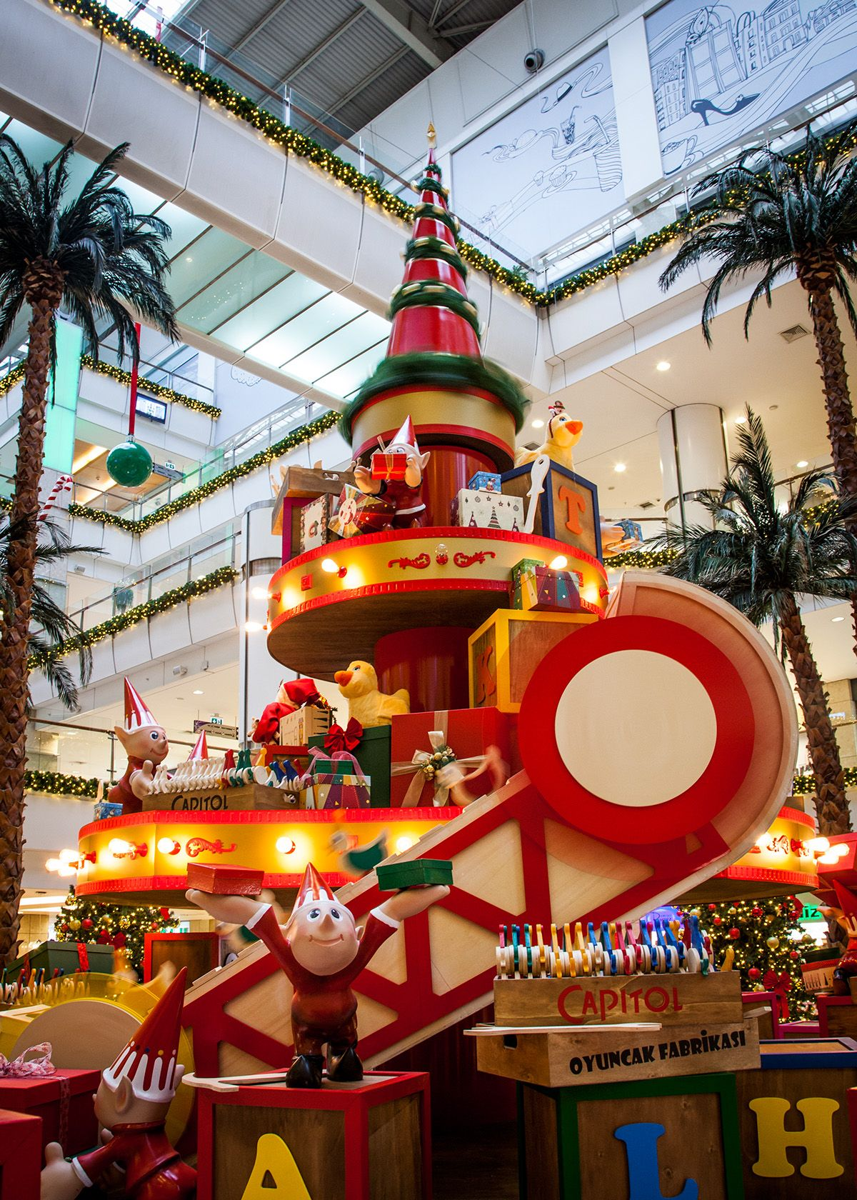 Capitol Toy's Factory / New Year Decoration on Behance ...