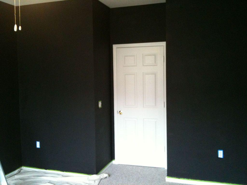 Rooms Painted Black Alluring Black Painted Rooms 120 Best Black Walls Images On