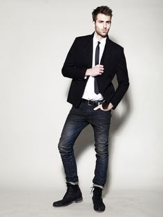 men blazers with jeans - Google Search   Hey Peter, Look At This ...