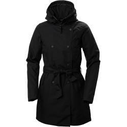 Photo of Helly Hansen Woherr Welsey Ii Trench Insulated Rain Winter Jacket Black Xl