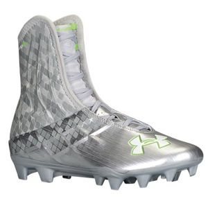 all white under armour cleats