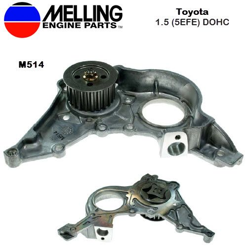 New Melling Oil Pump For Toyota 1 5l Engine Part M514