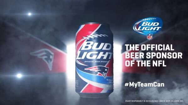 Beer, & Our Patriots Yup that's all we need!#GoPats
