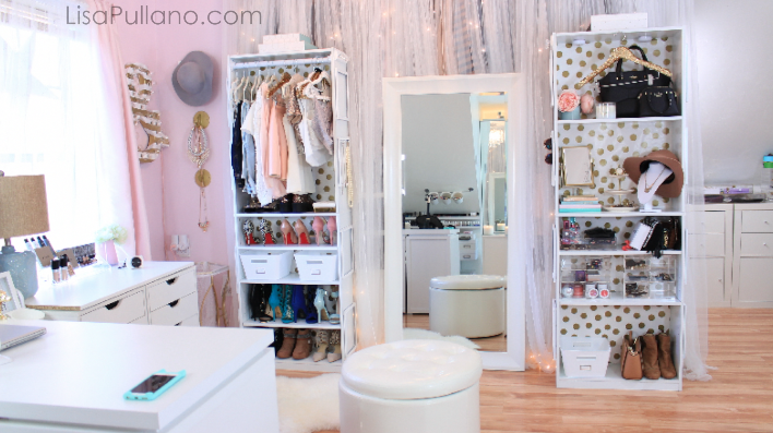 Dose Of Lisa Pullano: Make Your Own Bookcase Closet U0026 Sequin Hanger